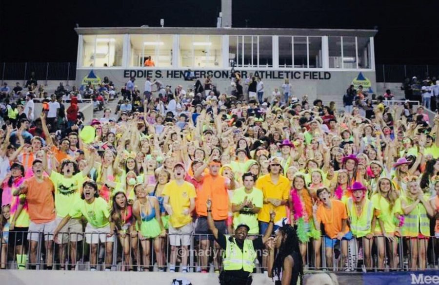 Friday Night Lights: North Atlanta's spirited student section, Warrzone, is a prominent part of Dubs football culture. Many Warriors would be overjoyed to be allowed back in the stadium come game day. With proper safety precautions, what's really holding APS back from making this decision?