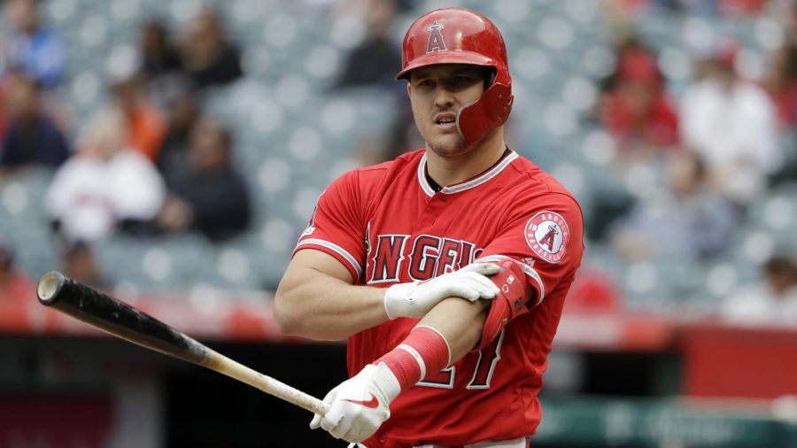 Mike+Trout%2C+a+center+fielder+for+the+Los+Angeles+Angels%2C+is+a+well-known+face+to+true+fans+of+the+sport