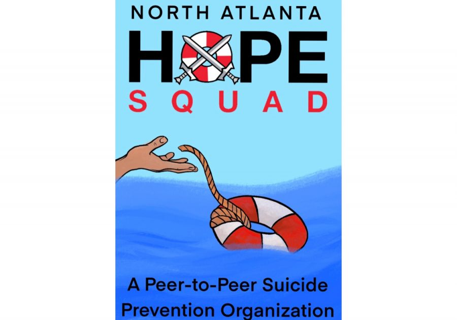 Ending the Stigma: Hope Squad is a new organization at North Atlanta that is dedicated to ending the detrimental stigma surrounding mental health. Through peer-to-peer suicide prevention practices, students are able to create an open line of communication with their peers and feel they are not alone.