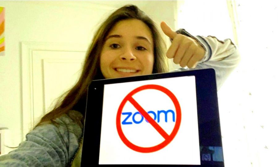 Mid-Week Mellow: Sophomores like Olivia Roth are among those North Atlanta students who are enjoying the new Zoom-free asynchronous Wednesdays.