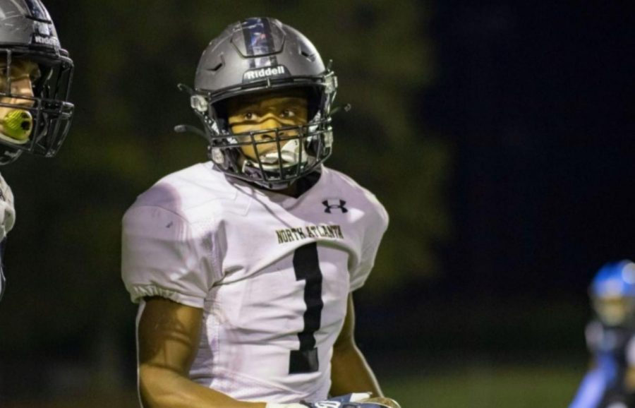 Double Sided: North Atlanta senior Syre Stewart made massive contributions to the Dubs this year playing on both offensive and defensive squads as both a wide receiver and a cornerback.
