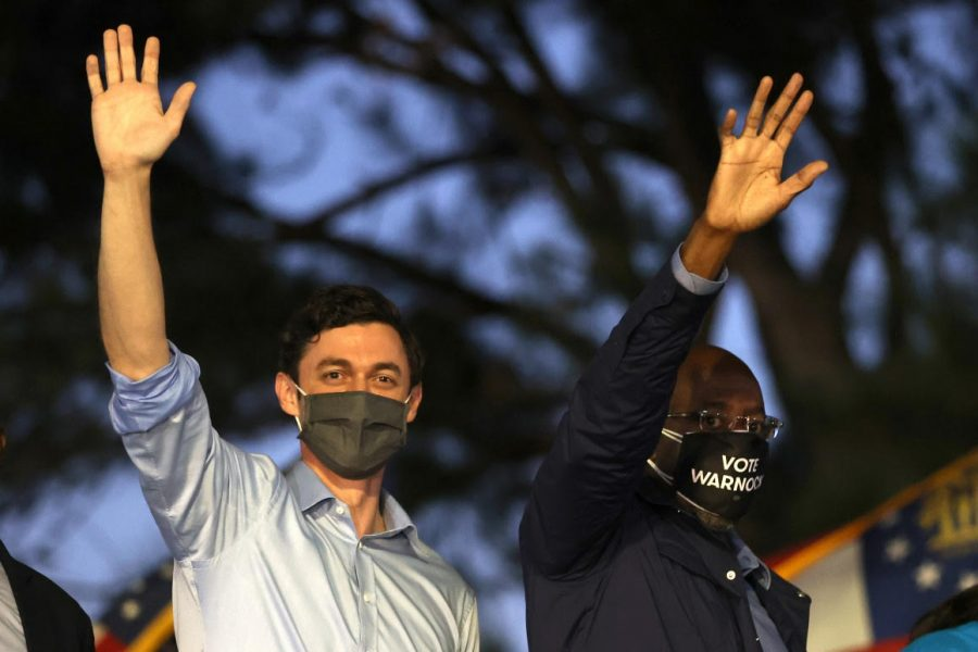 Georgia On My Mind: Senators-elect Raphael Warnock and Jon Ossoff celebrate their historic victory in Georgia's U.S senate runoffs.