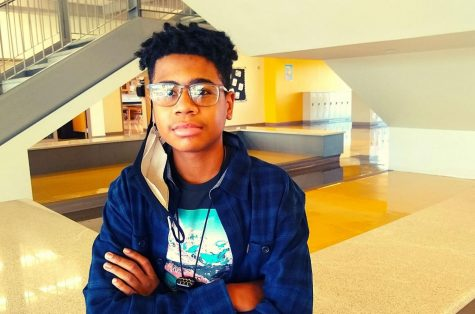 Finally In: Freshman Bryce Murray, after spending the majority of his first year of high school at home for virtual learning, was able to finally enter North Atlanta High School on Feb. 16, the first day of in-building learning during the 2020-21 school year.