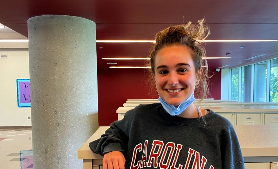 Raising Awareness: To create greater awareness about the threats that young women face with sexual assault, sophomore Olivia Granot helped found a group called Talking for Teal. Among other activities, the group posts information on Instagram to help people be aware of the threats and about resources for help.
