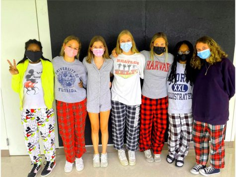 Casual Tuesday: Each day of 2021 Homecoming at North Atlanta featured a different theme and members of the Warrior Wire staff were all in for PJ day, the day that kicked off the fun week. . .