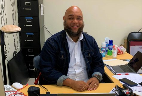 New at North: Cedrick Howard, who is enjoying his first year at North Atlanta, teaches audio and film production. Howard said all he's done in his professional life has prepared him for his current service to the school's students. Regan Murray