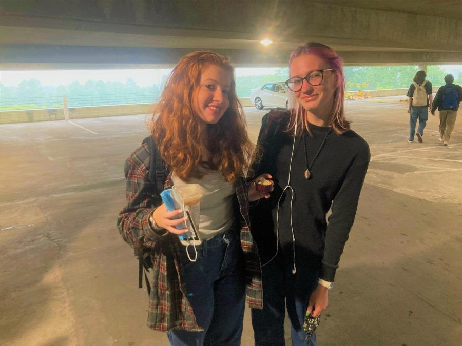 """Resurrection of """"Twilight."""" The unexpected return of """"Twilight"""" has struck the halls of North Atlanta in the form of fashion. Juniors Nastia Jones and Paige Clayton are officially into the retro craze."""