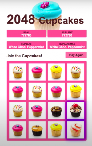 Cupcake Craze: 2048 is a computer game that is taking over the 11 stories by storm. During class, instead of aiming for high grades, students are looking to win the game and achieve the coveted white chocolate peppermint cupcake.