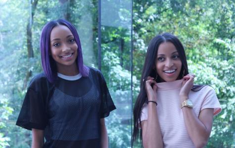 Jones Sisters Rock NAHS Fashion World