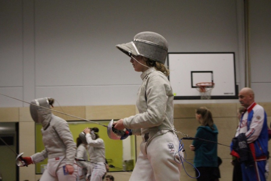 Senior+Lark+Izenson+at+a+fencing+competition+in+Germany.+