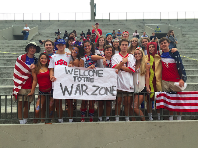 The+War+Zone+Spirit+Club+is+in+charge+of+increasing+school+spirit+in+the+NAHS+student+section.+