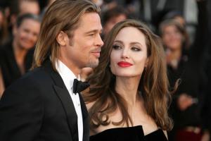 Brad Pitt and Angelina Jolie 84th Annual Academy Awards (Oscars) held at the Kodak Theatre