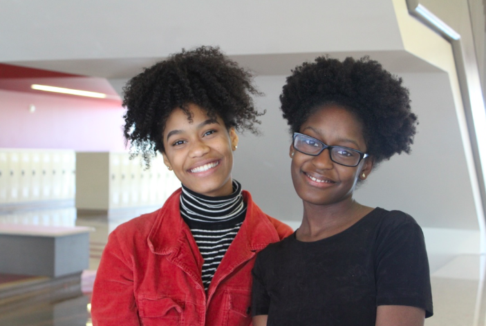 More and more students are continually embracing the natural hair in the halls here at North Atlanta.
