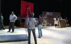 "Behind the Scenes of ""Rent"" With Drama's Tech Crew"