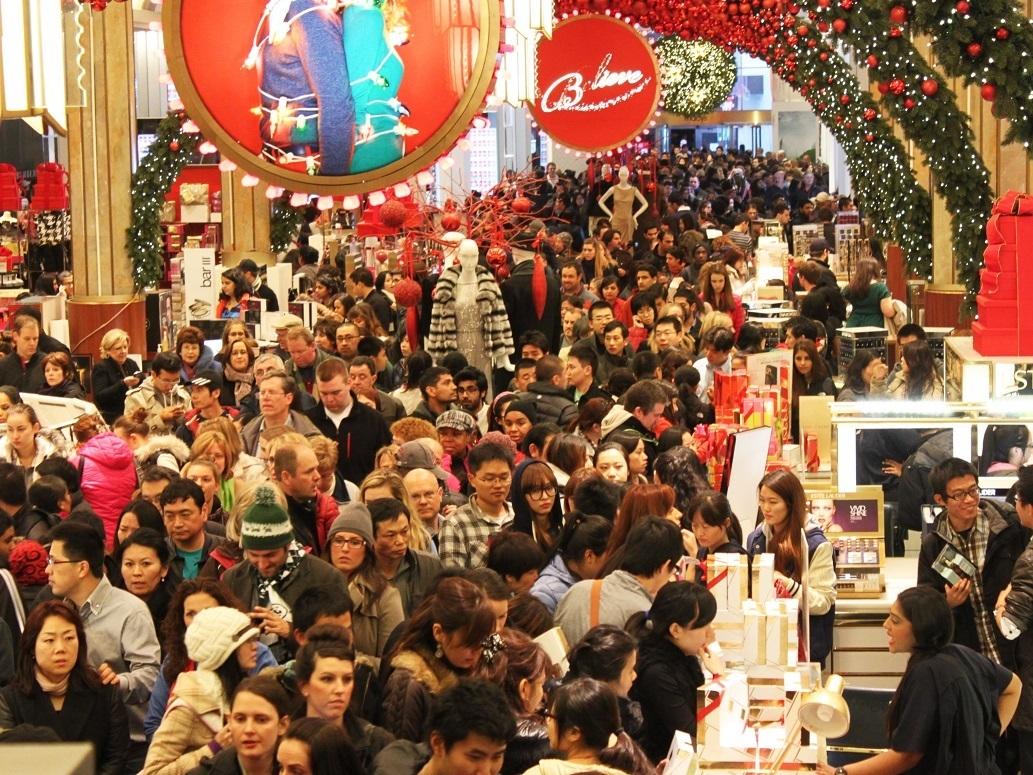 Tis the Season: North Atlanta students were among those who entered into the Black Friday shopping frenzy.