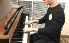 Composer Brendan Weinbaum Shows Key Piano Skills