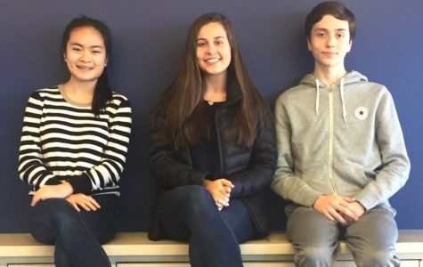 """High Drama: The spring musical """"Into the Woods"""" will feature a wide range of acting and singing talent. Cast members Fiona Liu, Katherine Atkinson and Cole Bickerstaff are deep into rehearsal season to get things ready for the March production."""