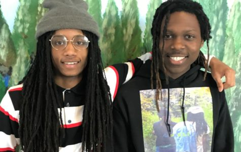"""Extended Talent: North Atlanta seniors Aaron West and Elijah Lewis -- a duo with the name AaronELIjah -- have covered new artistic ground with their new EP release """"I Am."""""""