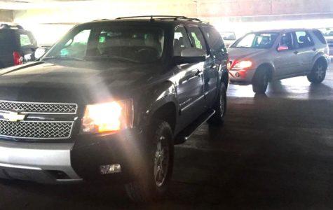 Parking Deck Drama Causes Mass Chaos