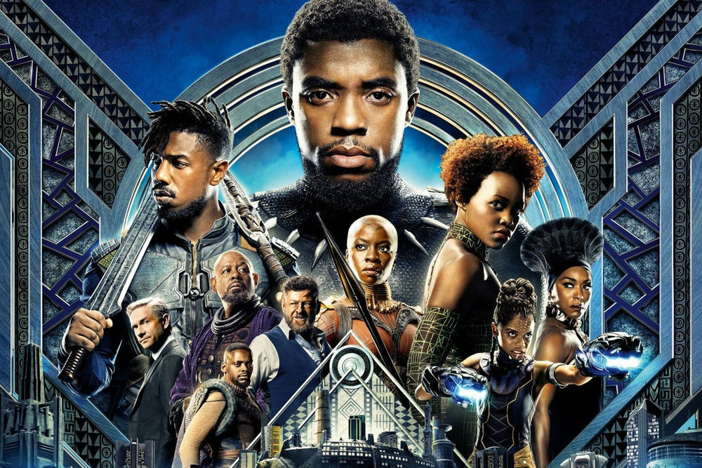 Black Panther took Atlanta by storm. Wakanda Forever.