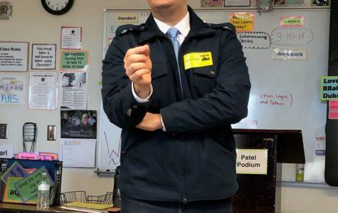 CNN 10 Anchor Carl Azuz Inspires Journalism Students