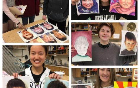 Art Students Make Healing Art for Children Under Memory Project