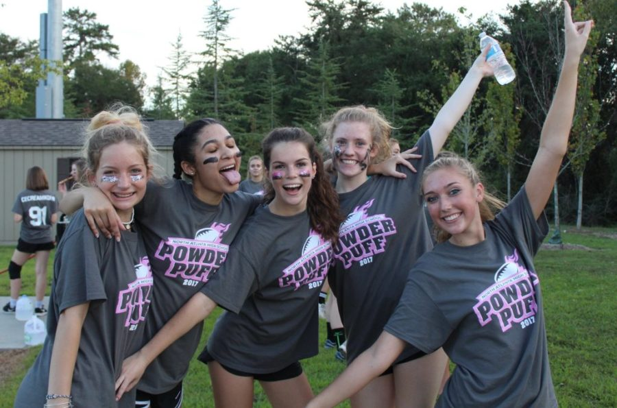 Annual Powder-Puff Rivalry Renewed During Homecoming Week