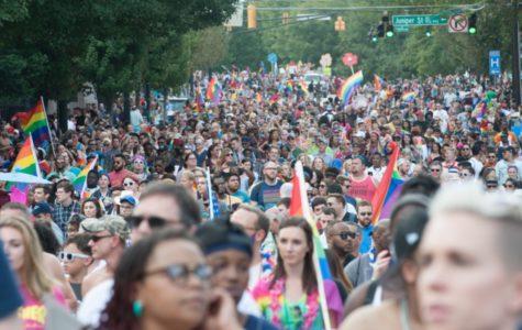 Atlanta's LGBTQ Community Show Its True Colors At The Annual Pride Festival