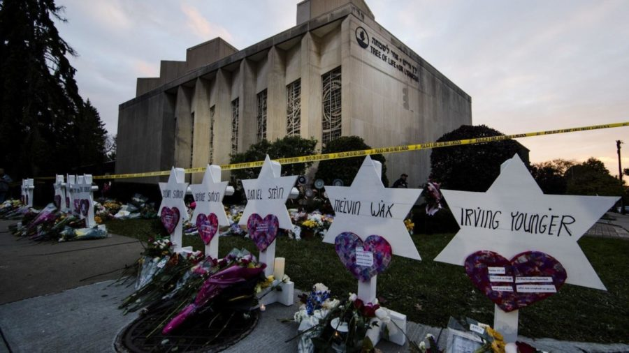 The+recent+shooting+of+the+Tree+of+Life+synagogue+in+Pittsburgh%2C+Pennsylvania+has+left+many+in+a+state+of+shock+and+horror.+