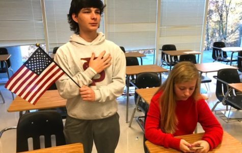 Sitting Out or Taking a Stand for The Pledge Of Allegiance