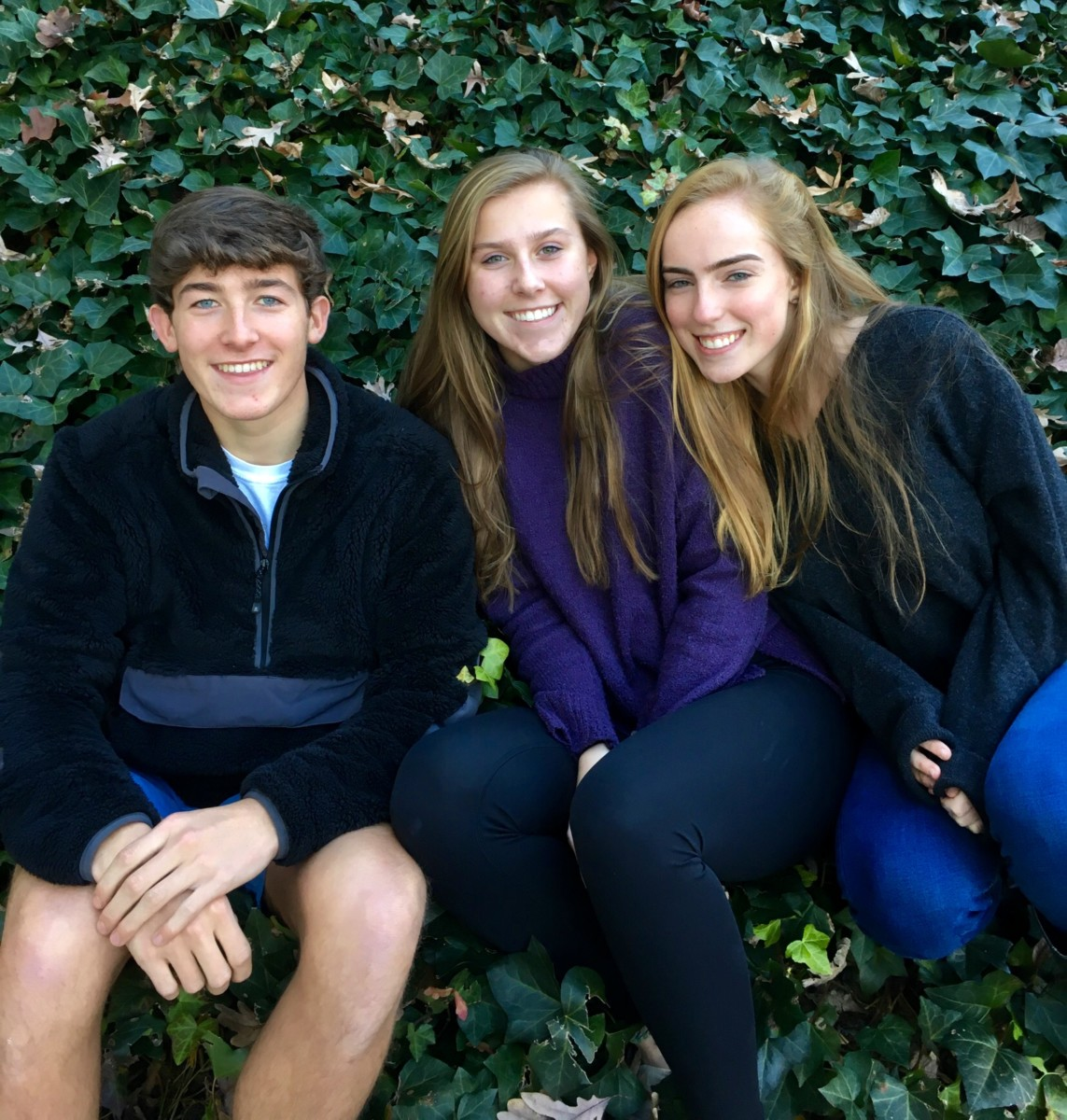 Rooted in Nature: Juniors Ethan Staats, Lily Mason, and Molly Neel have found their true calling among nature, whether it's working outdoorsy jobs, becoming involved in nature organizations, or even starting their own outdoor clubs.