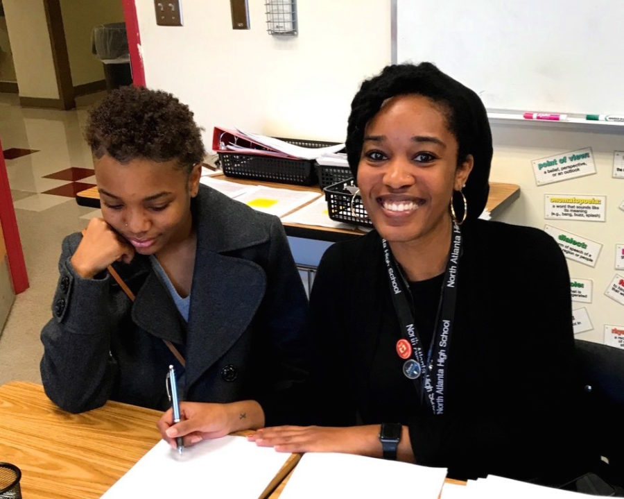 First Year Literature Instructor Kaila Corbin Discovers North Atlanta
