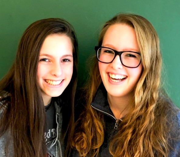 Twins Take On NAHS Four Steps at a Time