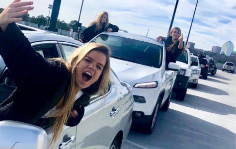 Parking Deck Traffic Drives Dubs Crazy