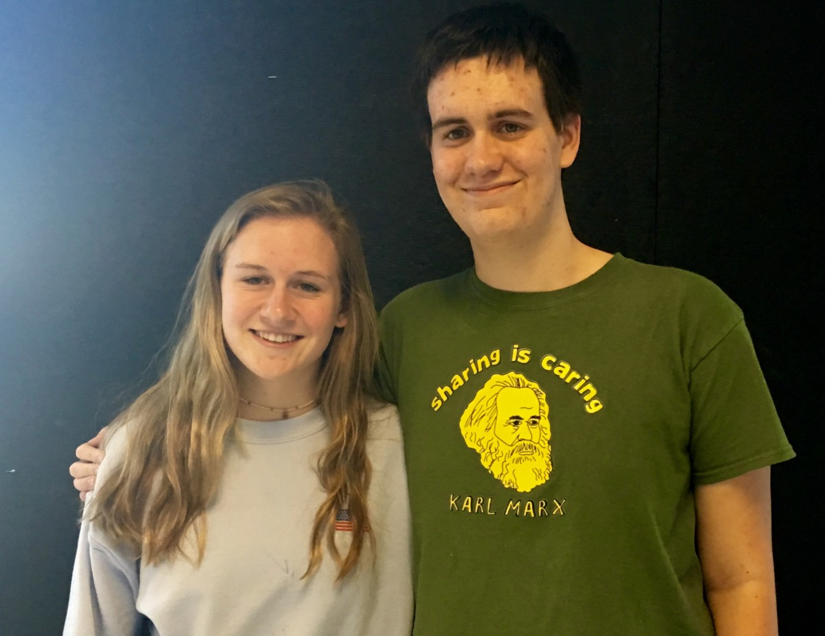 Sibling Blues: Sophomore Sophie Yanoshik and senior Jack Yanoshik deal with mixed feelings over the older sibling's graduation this year.