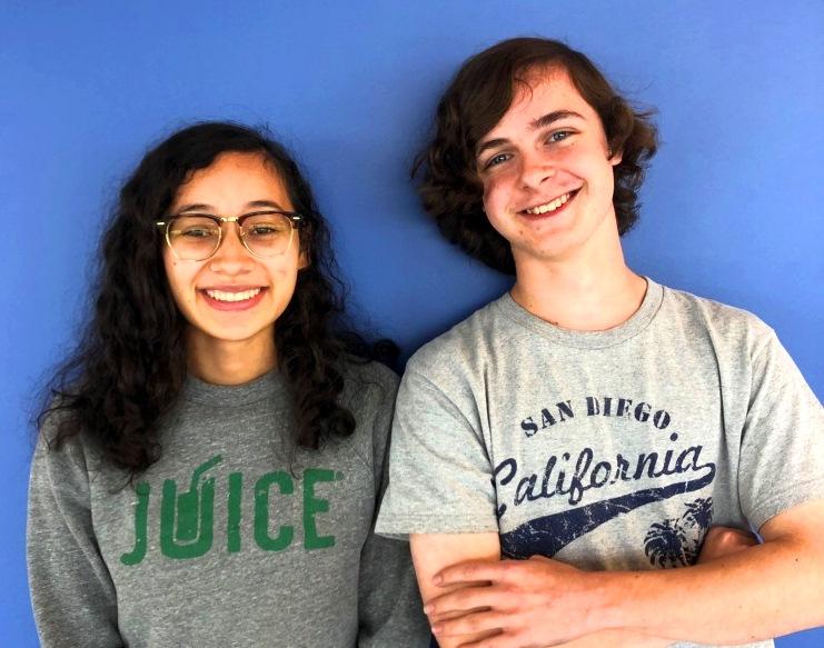 Fearless Leaders: SGA President Emily D'Achiardi and SGA Vice President Brendan Weinbaum  plan everything from homecoming week to prom.