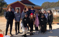 Warriors Build Up the Community in Habitat for Humanity Club