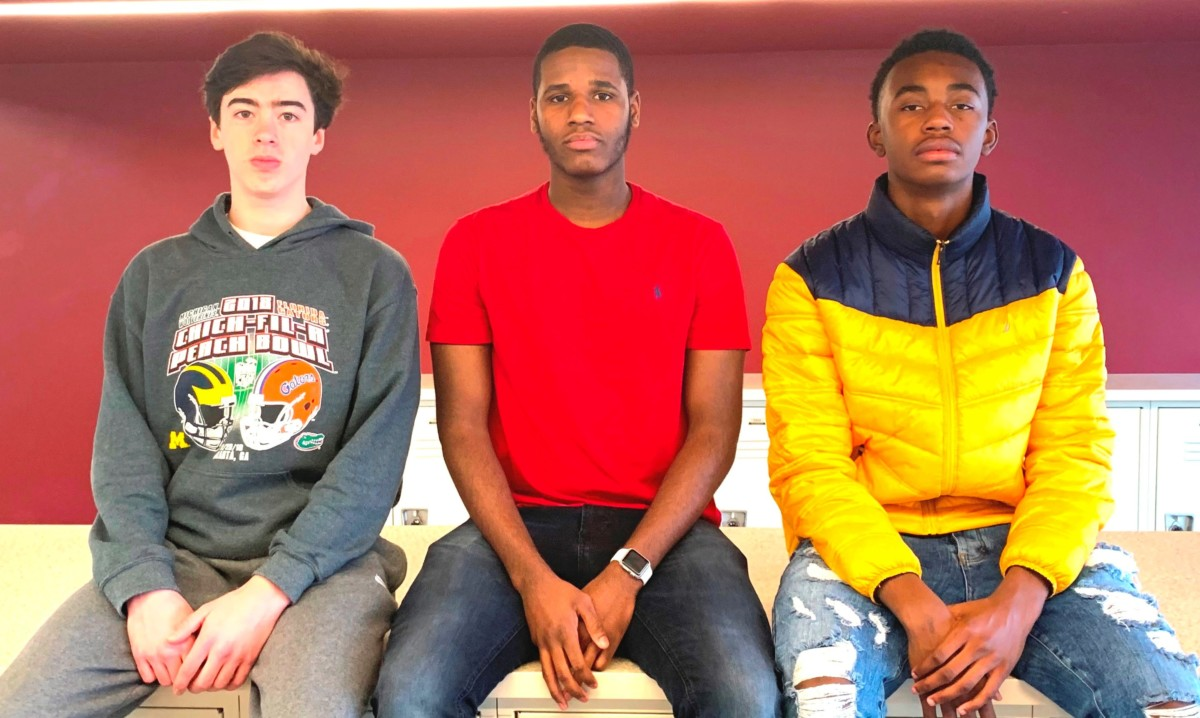 Hoop Heaven: The Warrior men's basketball squad has had a strong start for the 2019-20 season. Shown are high impact players Charlie Hamilton, Amari Scott and Kaleb Johnson