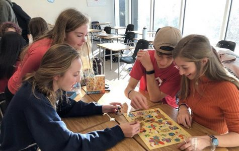 Architecture Rocks: ACE club members work on architecture design