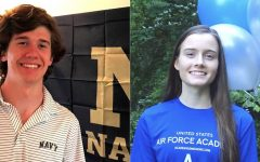 Uniformed Service: Seniors Brian Bird and Aubrey Miller are members of the Class of 2020 who will fulfill their collegiate dreams by studying at United State military academies.