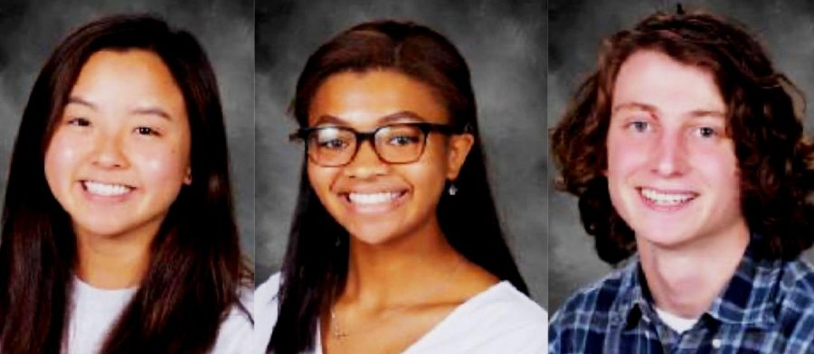 Class Acts: Class of 2020 valedictorian Emily Song, salutatorian Soleil Golden and STAR student Ezra Midkiff have impressively scaled the academic heights of their school.