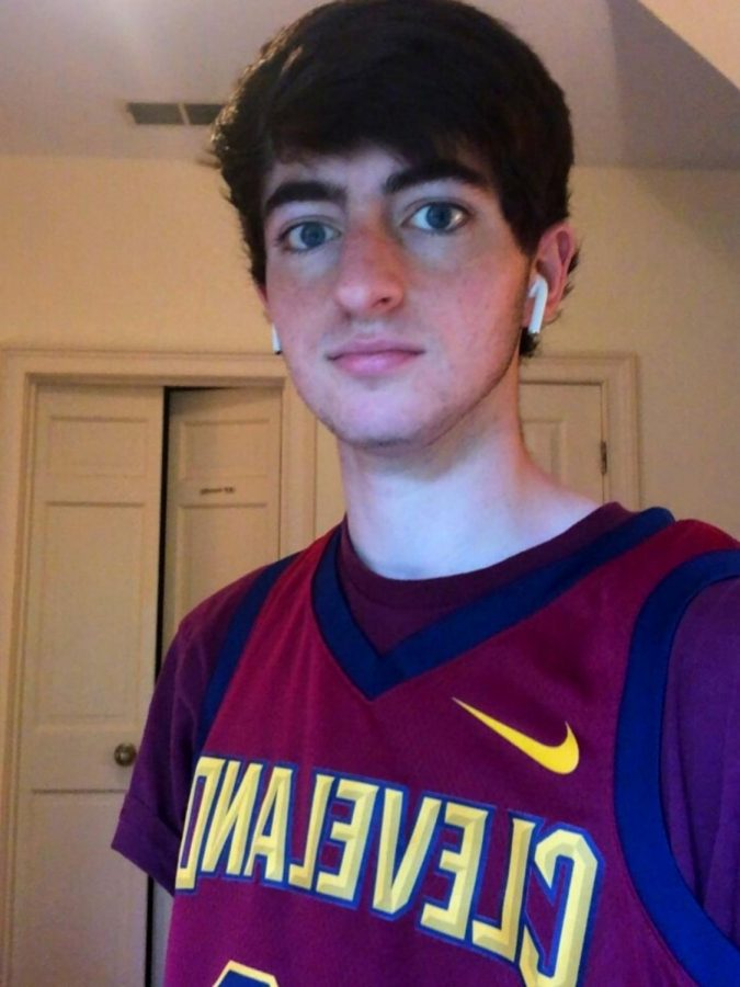 """""""Bron is the Goat! He's always been my favorite player and I see big similarities within our styles of play."""" – senior Ben Rose"""