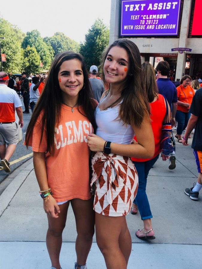 """""""Before I could walk, I was sitting in the crowds at the game, so Clemson games are like a second home to me."""" - Ally England, 11"""