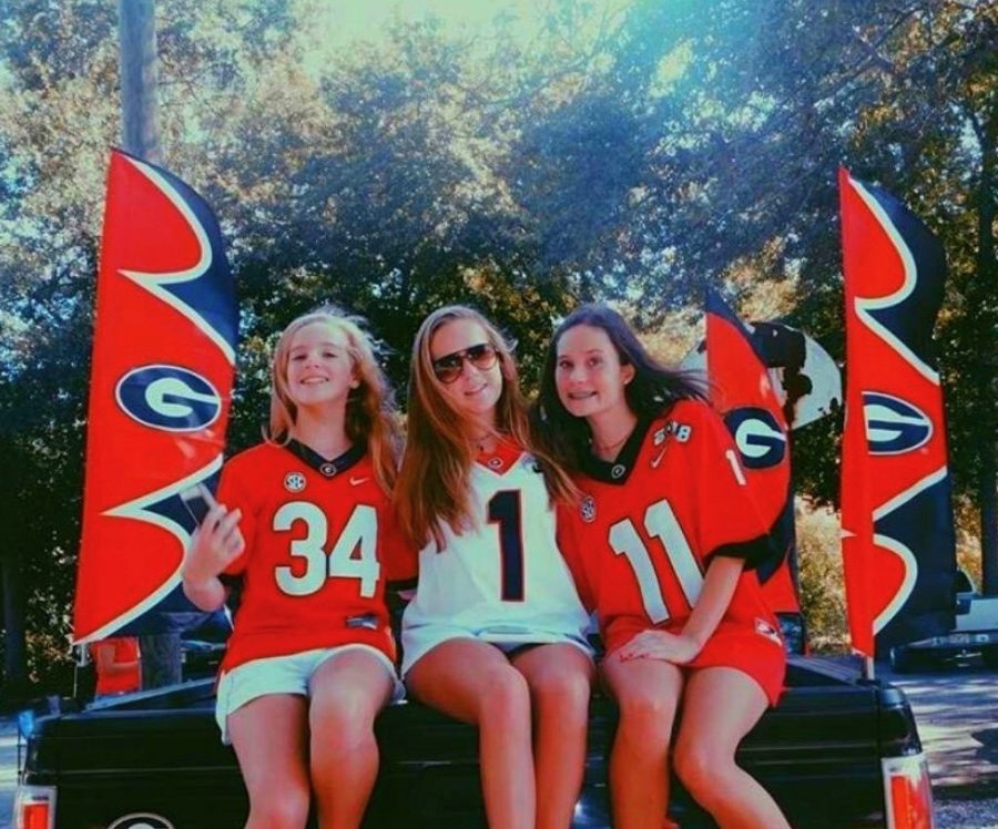 """""""My favorite team is Georgia because it's where I live and I have season tickets so I will be able to attend all of the fun games!"""" - Zoe Van Nostran, 11"""