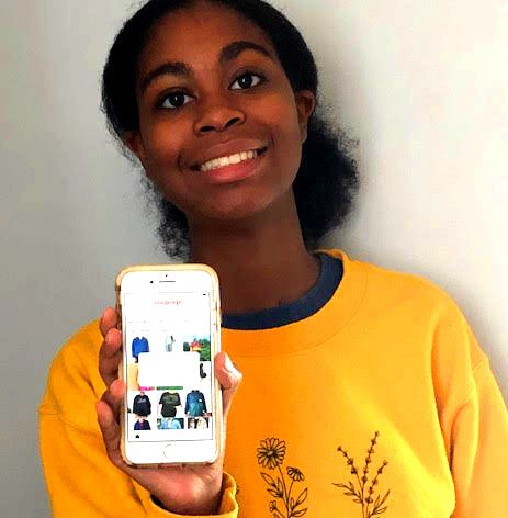 Depop, a popular app that lets users pick up second-hand clothing, is one of many ways North students facilitate their shopping obsessions. With Depop, sophomore Lena Hoover is always ready to find that perfect vintage t-shirt.