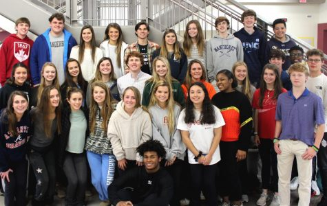 Fun and Fellowship: Shown is last year's Fellowship of Christian Athletes (FCA) Club. Now called Student Christian Athletes, SCA plans to keep up many of its cherished traditions including its open attitude to all members.