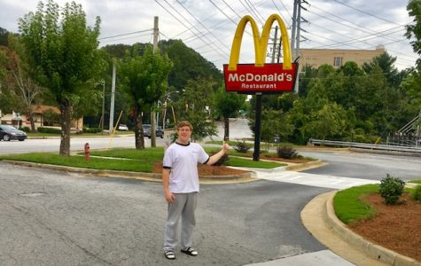 Cactus Jack Sent Him: Senior Matt Love is on his way to indulge in the new Travis Scott Burger.