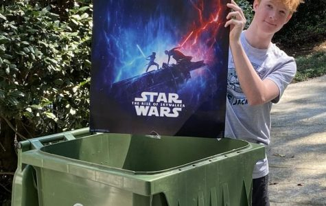 Franchise Flop: Sophomore Hugh Breeden believes the  recent Star Wars sequel trilogy belongs in one place: The trash.