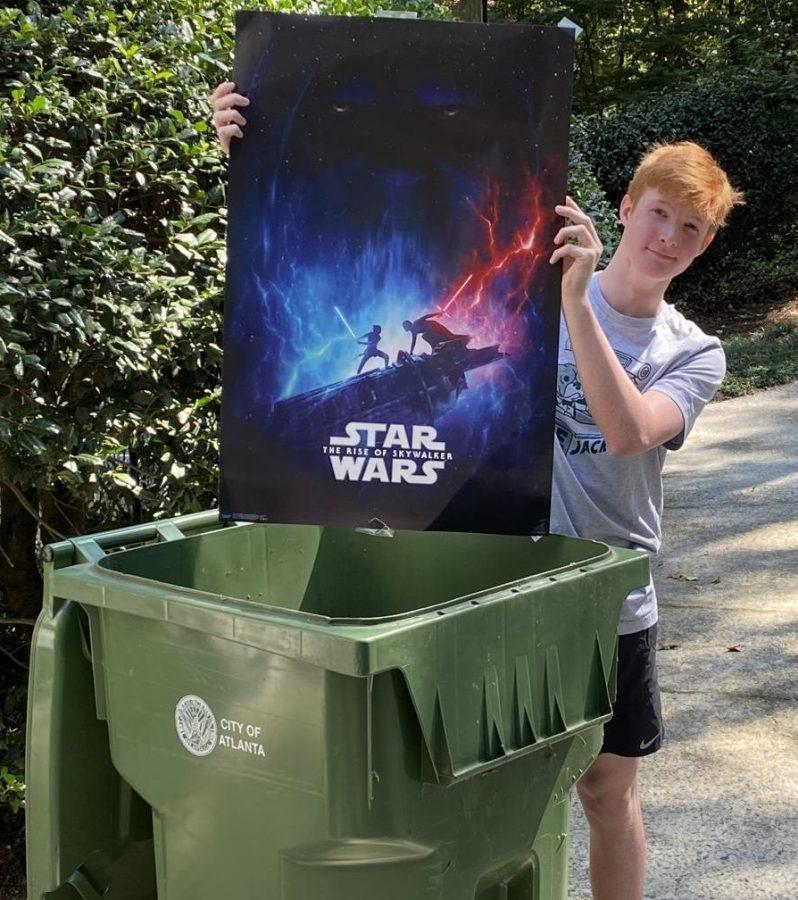 Franchise Flop: Sophomore Hugh Breeden believes the  recent Star Wars sequel trilogy belongs in one place: The trash.