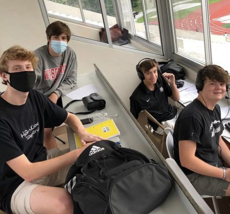 The Sports Scoop: The NAHS Broadcasting Club gets insider access at football games to broadcast sports events for listeners at home.
